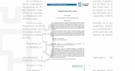 Ordenanza Fiscal nº 4 (ICIO)