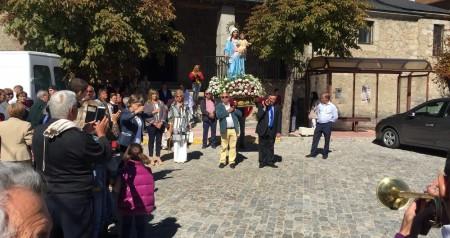 Recepcion misa y procesion virgen del rosario 02