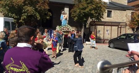 Recepcion misa y procesion virgen del rosario 03