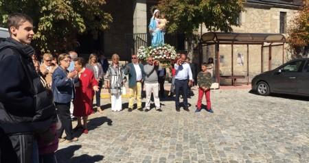 Recepcion misa y procesion virgen del rosario 04
