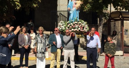 Recepcion misa y procesion virgen del rosario 05