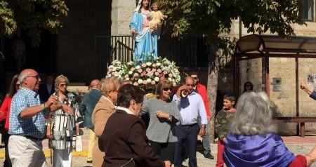 Recepcion misa y procesion virgen del rosario 06