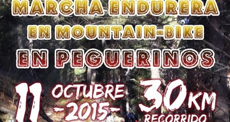 Marcha endurera en mountain bike